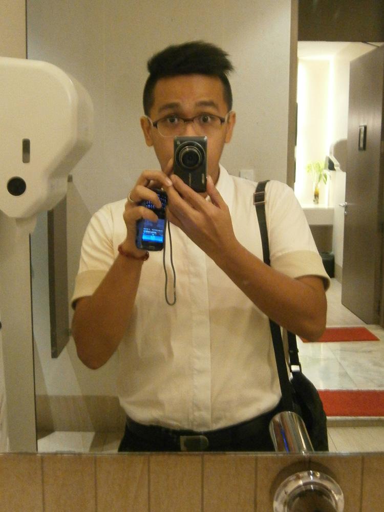 Mirror, Mirror - Jil Sander dress shirt, short sleeves