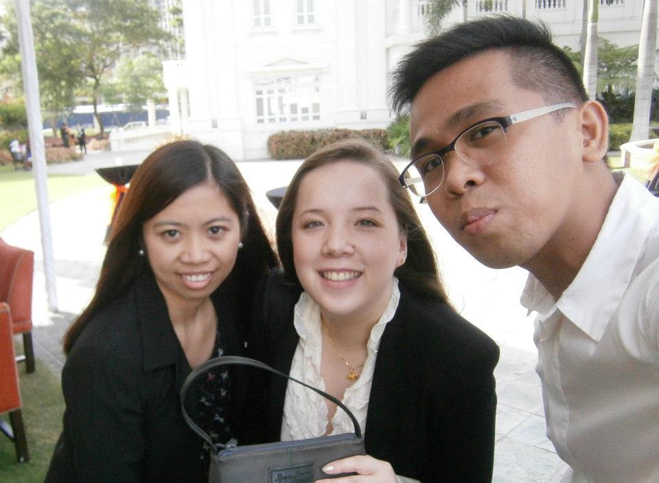 Rev, Ayen and I