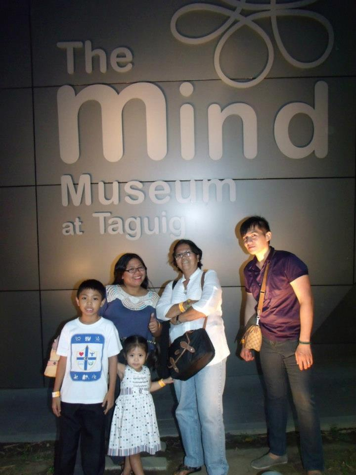 About to leave the Mind Museum - The Mind Museum at Taguig