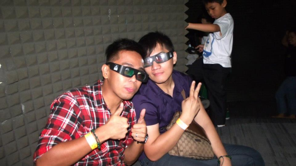 After the 3D show - The Mind Museum at Taguig