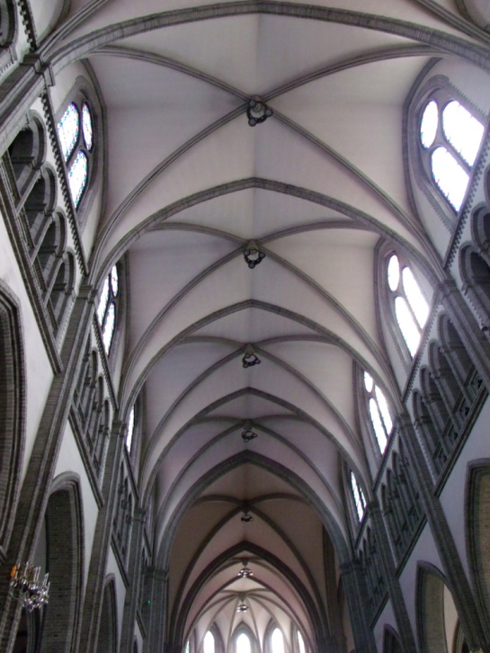 Ceiling of Myeongdong Cathedral