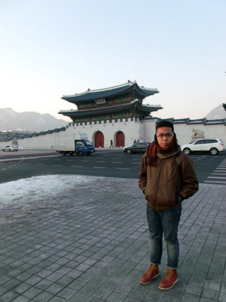Gyeongbokgung again, but this time in winter