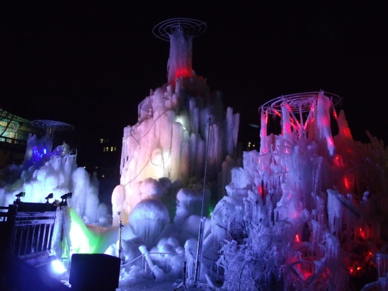 Ice structures in Children's Grand Park