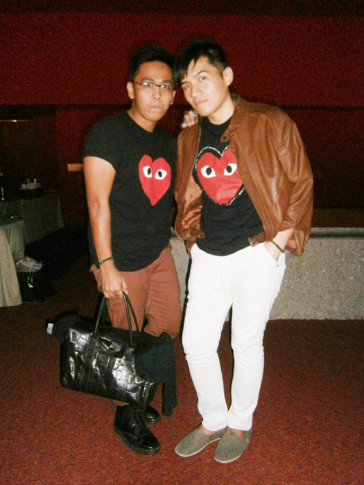 "Mon and I's most decent picture together using my camera LOL - Manila, Philippines ""mulberry bag philippines"" comme des garçons"