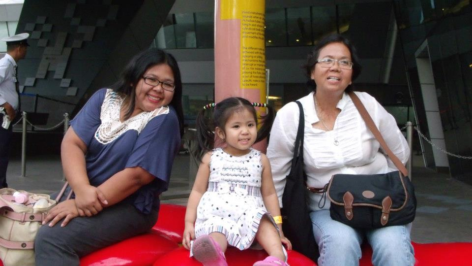 Mother, daughter and grandmother  - The Mind Museum at Taguig