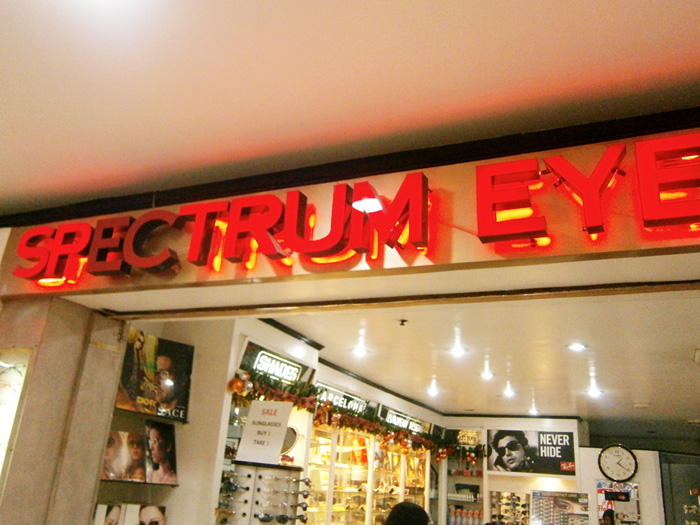 Spectrum Eye Express in Farmers Plaza Cubao - optical shop