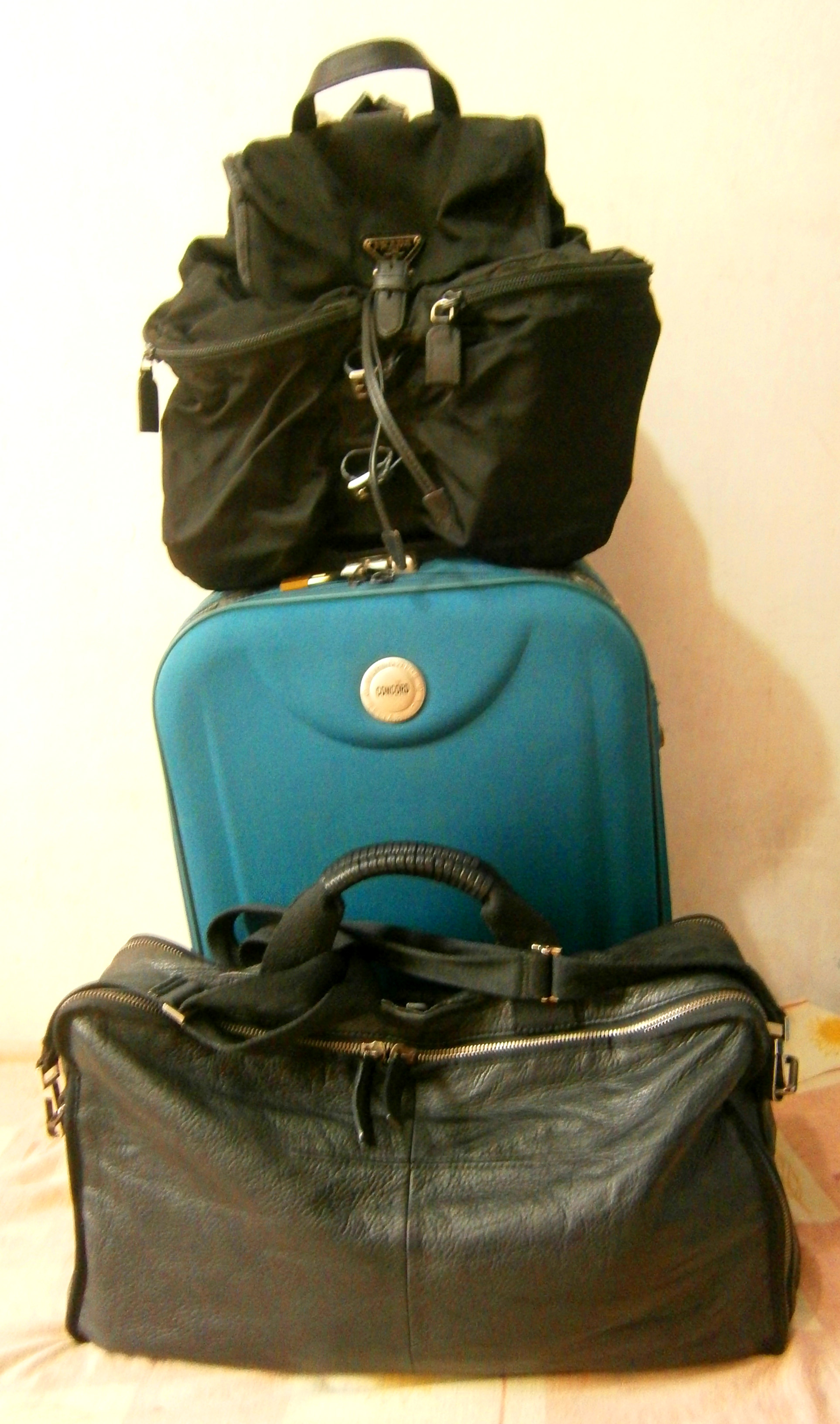 The cliche - all my bag are packed, I'm ready to go - Seoul, South Korea