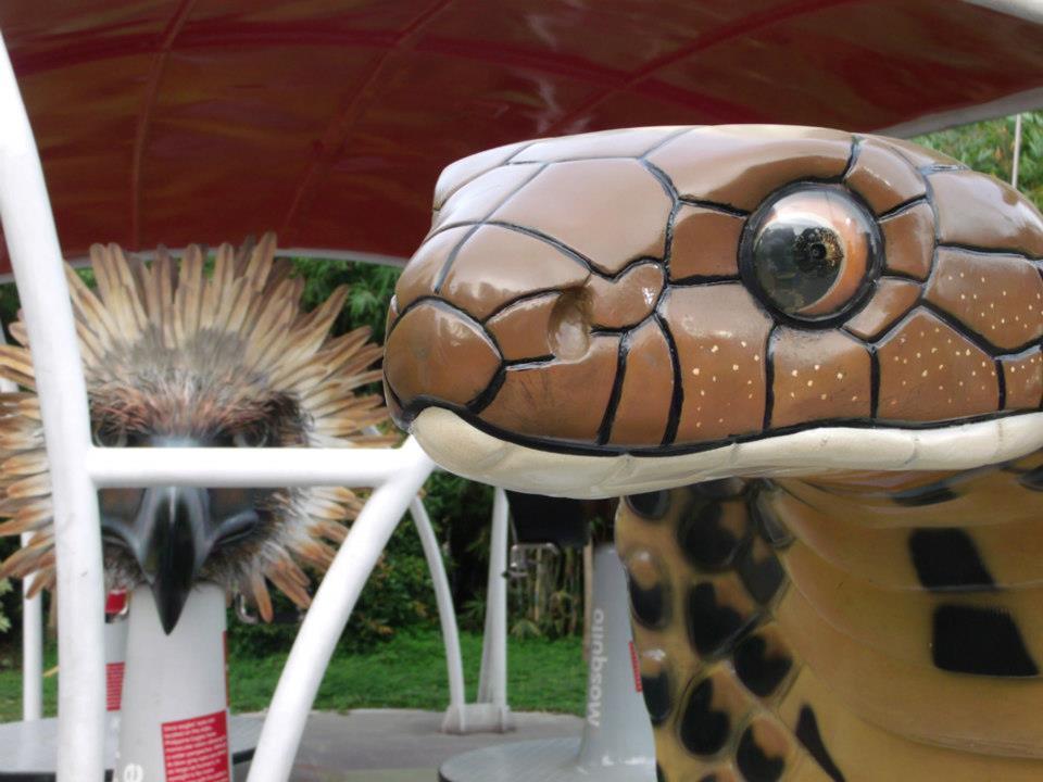 The king cobra-vision simulator - The Mind Museum at Taguig