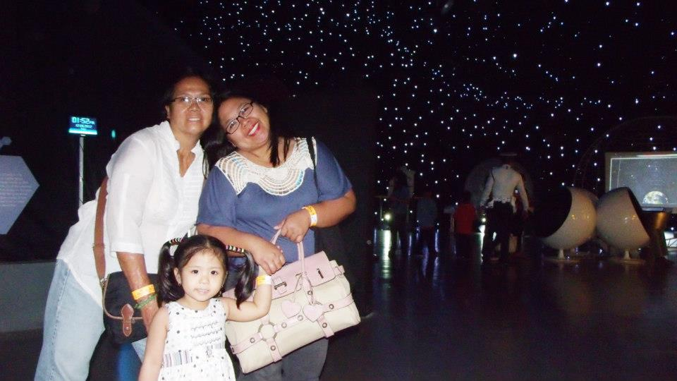 The Universe section  - The Mind Museum at Taguig