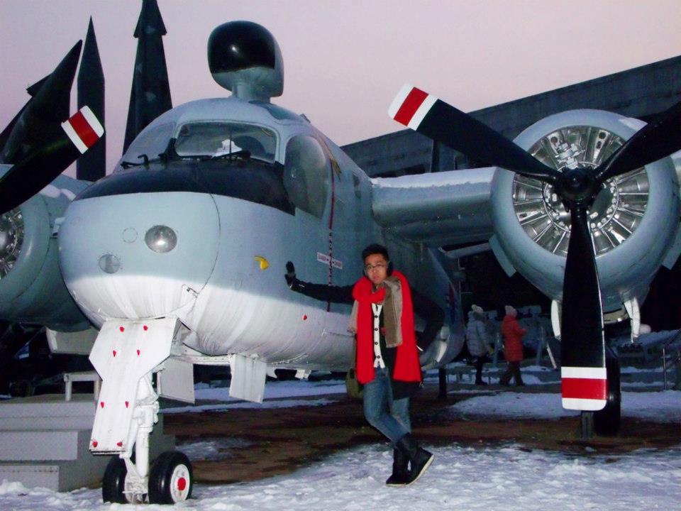 Amelia Earhart, just kidding - War Memorial of Korea