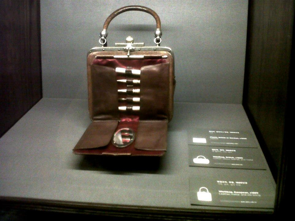 European workbag circa 1880 - Simone Handbag Museum, Gangnam-gu, Seoul, South Korea