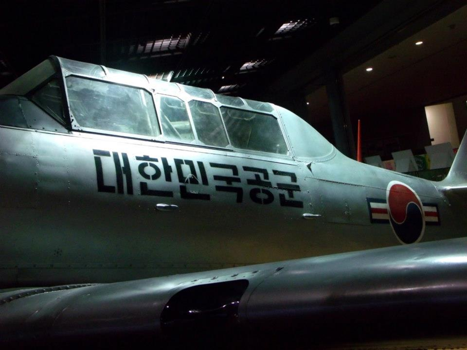 I think this is a U.S. plane - War Memorial of Korea