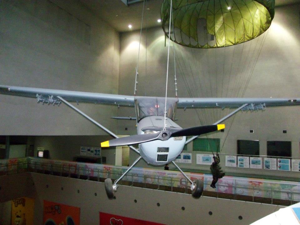 Large equipment indoor exhibition - War Memorial of Korea