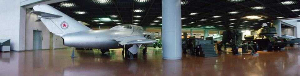 Panorama view of the Indoor Exhibition Hall - War Memorial of Korea