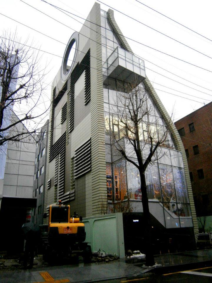 Simone Handbag Museum's building in Gangnam-gu - Simone Handbag Museum, Gangnam-gu, Seoul, South Korea