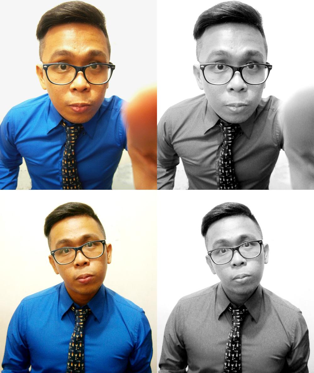 Unused photos - royal blue dress shirt and blue Hermès necktie