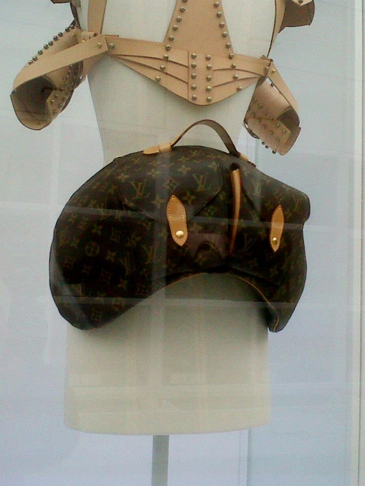 Vivienne Westwood and Louis Vuitton collaboration bum bag (1996) - Simone Handbag Museum, Gangnam-gu, Seoul, South Korea