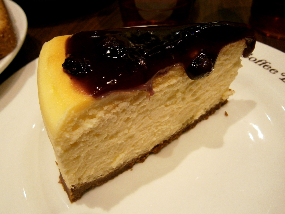 Blueberry cheesecake - Coffee Bean and Tea Leaf, Greenbelt 3