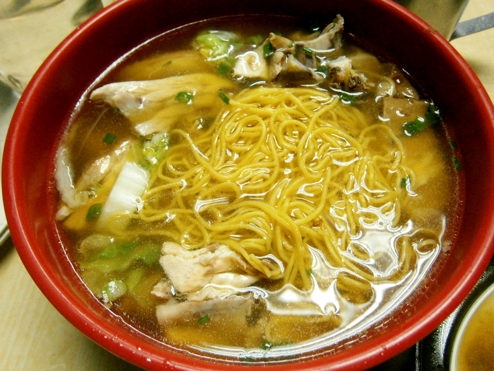 Chicken noodles  - Waiying, Binondo, Chinese New Year 2013
