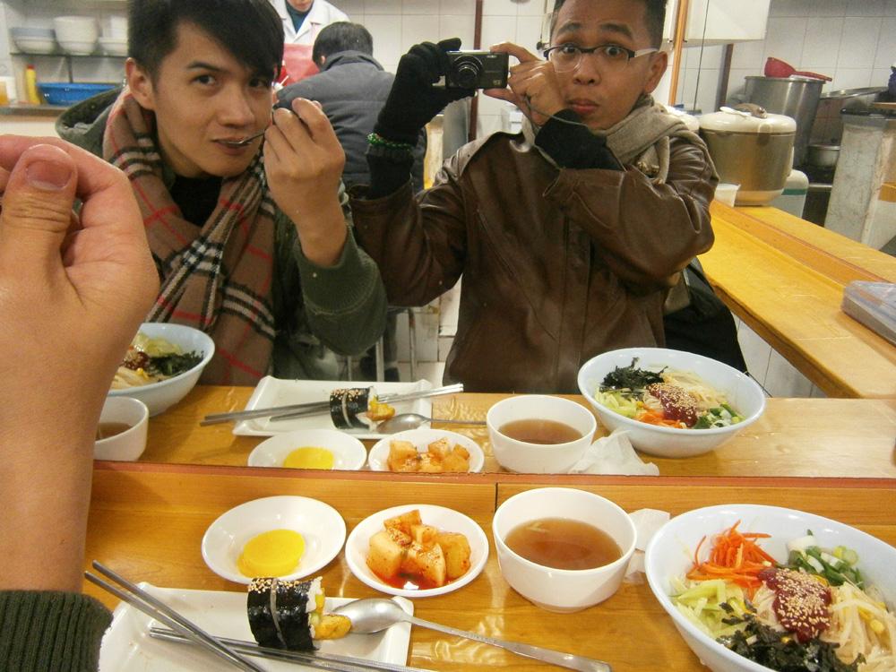 Day 1 - About to eat - Myeongdong Makguksu