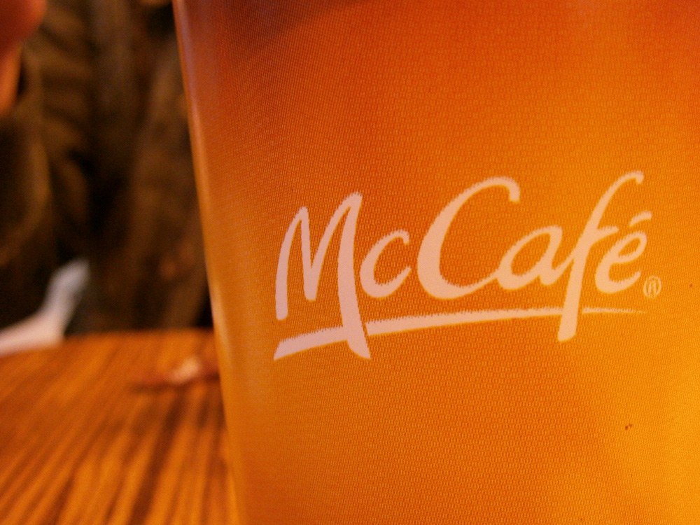 Day 1 - Coffee from McDonald's Incheon International Airport