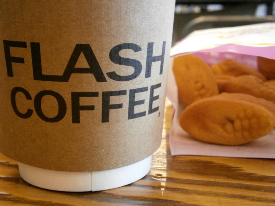 Day 3 - Flash Coffee in Myeongdong Station