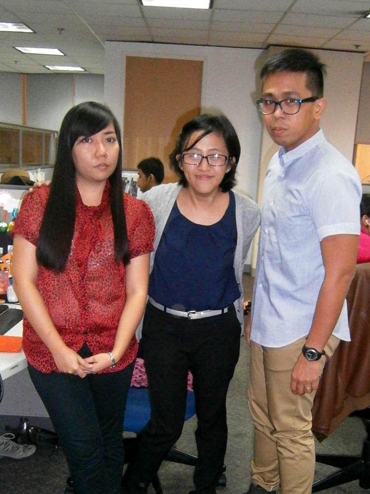Faye, Monette and I