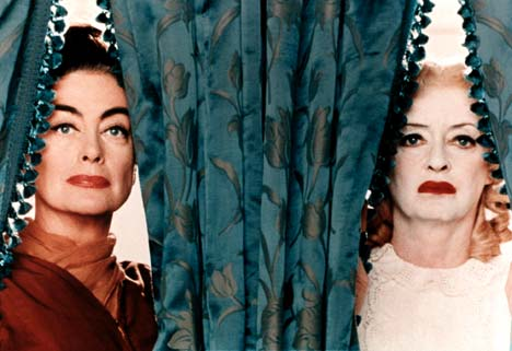 Joan Crawford and Bette Davis