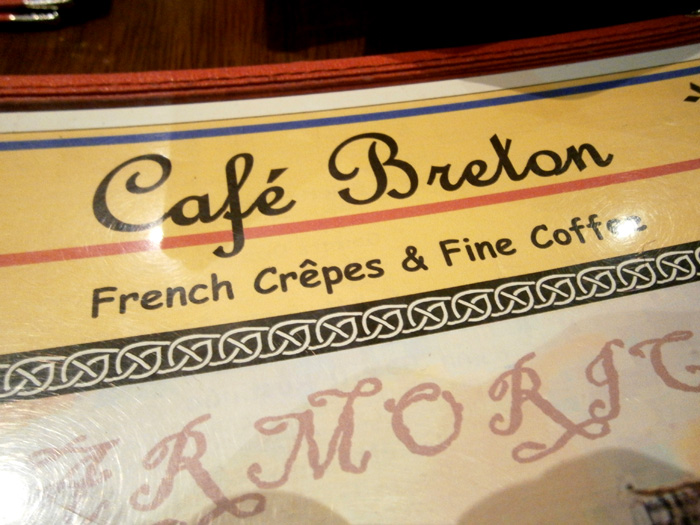 Menu of Cafe Breton, Trinoma