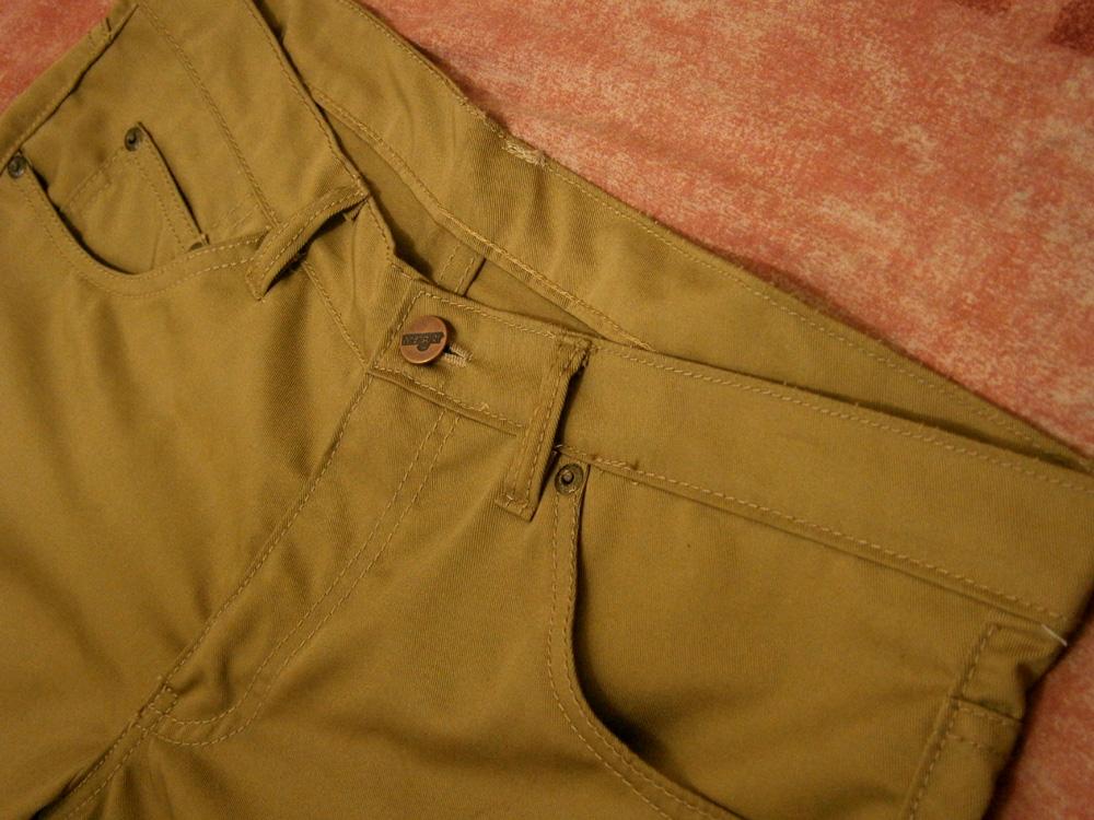 My new pair of tailor-made skinny khaki pants