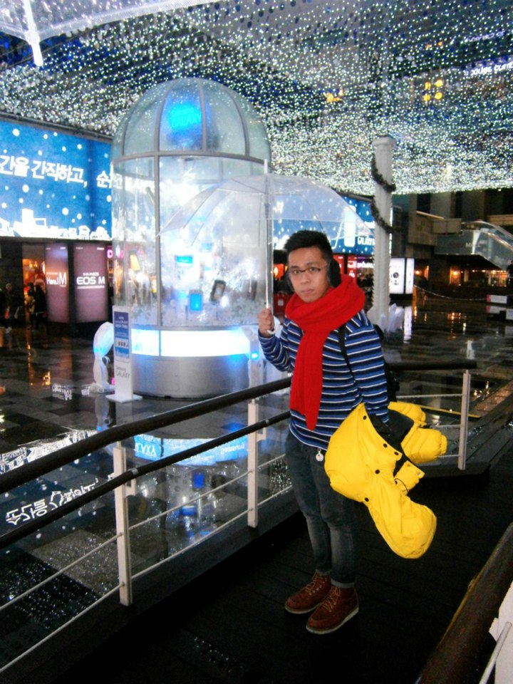 Beneath the pretty lights - COEX Mall