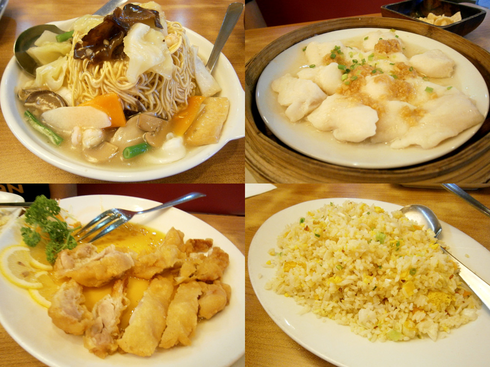 Super Bowl of China dishes