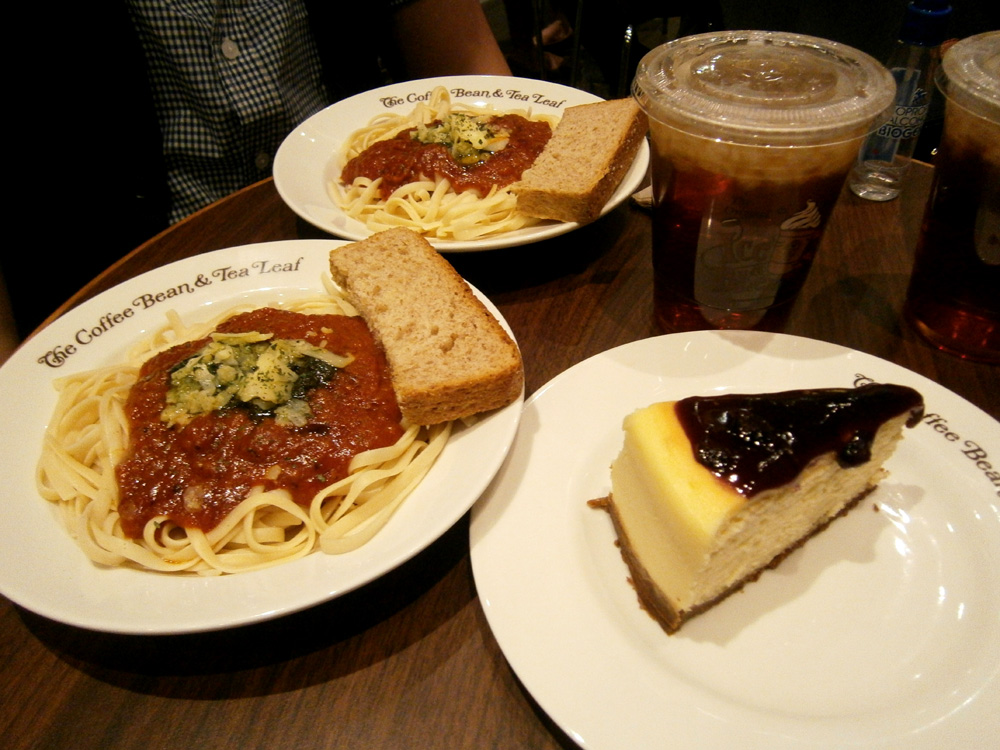The quickest Valentine's dinner we ever had - Coffee Bean and Tea Leaf, Greenbelt 3