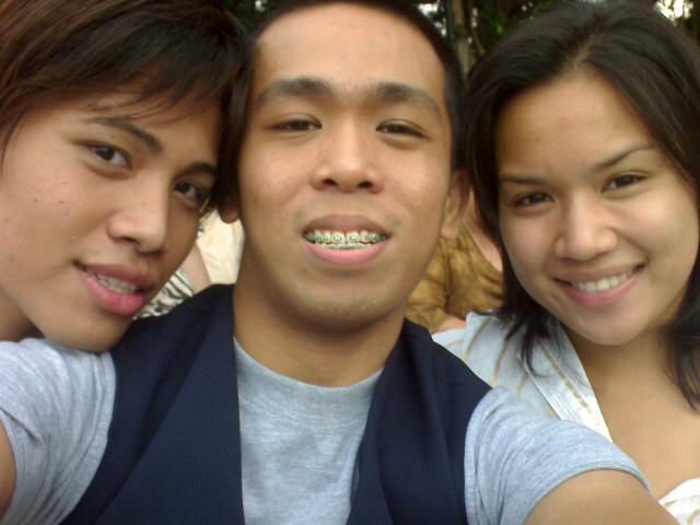 UP Diliman's University Graduation 2008 --- we all looked so young here and I still had braces