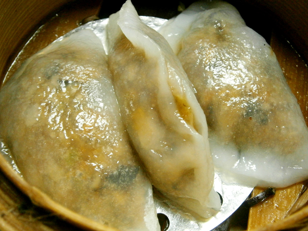 Vegetable dumpling  - Waiying, Binondo, Chinese New Year 2013