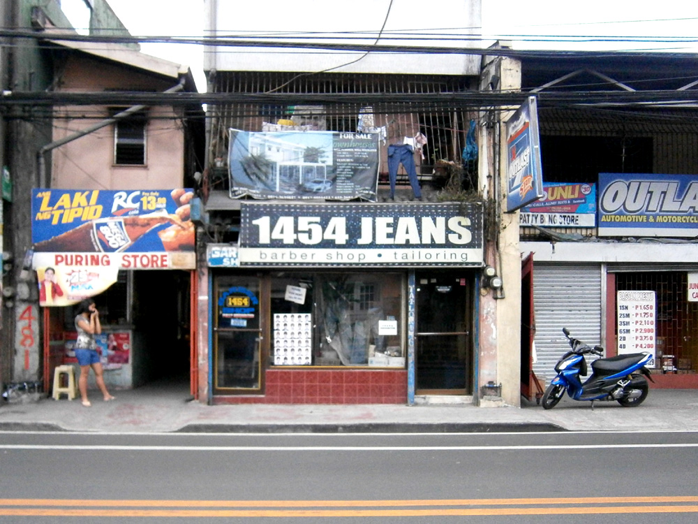 Where the magic happens --- my favorite tailor in Marikina