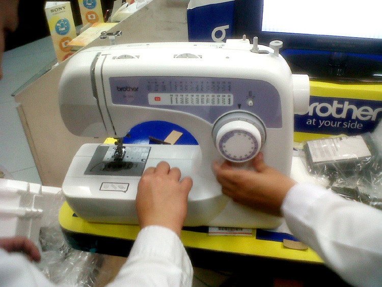 Gift for my mother - a Brother BM-2600 sewing machine