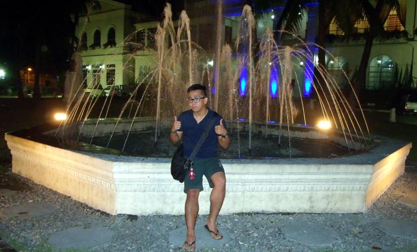 Hello fountain - Laoag City Capitol, Laoag, Ilocos Norte