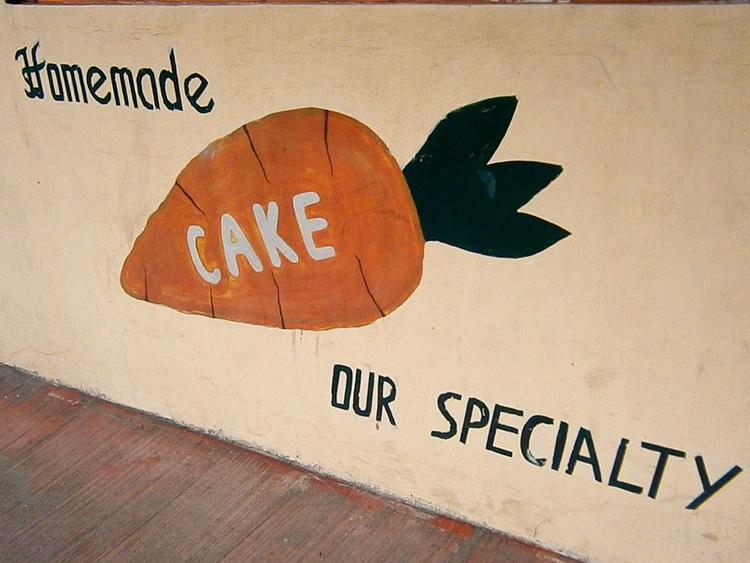 Home Made Carrot Cake in San Juan City