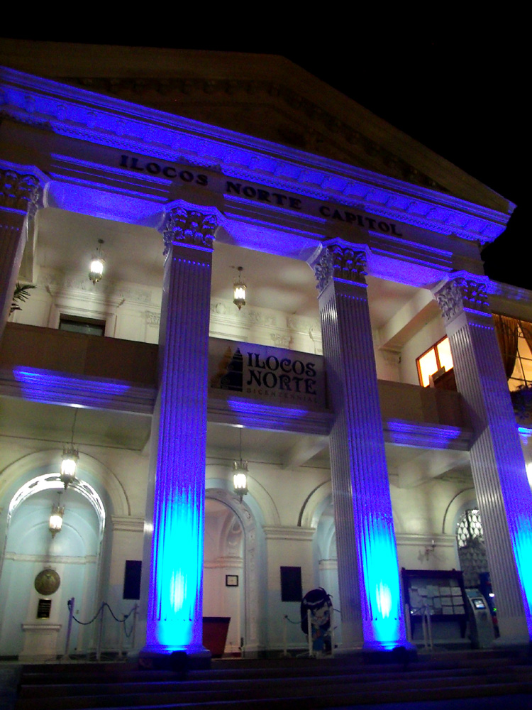 I especially adore the lighting of Laoag City Capitol - Laoag, Ilocos Norte