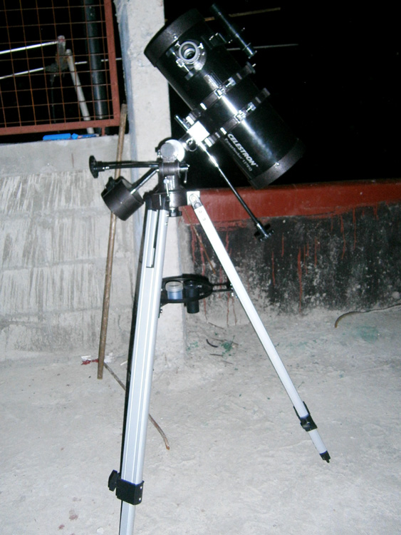 My new telescope - a Celestron PowerSeeker 127 EQ