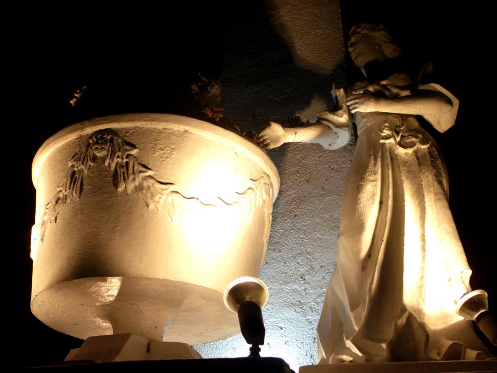 One of the sculptures in Laoag City Capitol - Laoag, Ilocos Norte