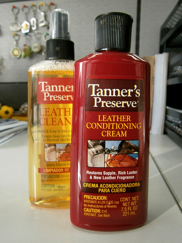 Tanner's Preserve Leather Cleaner and Conditioning Cream