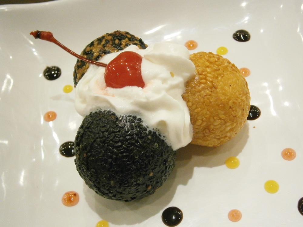 Three Flavor Buchi - Wee Nam Kee