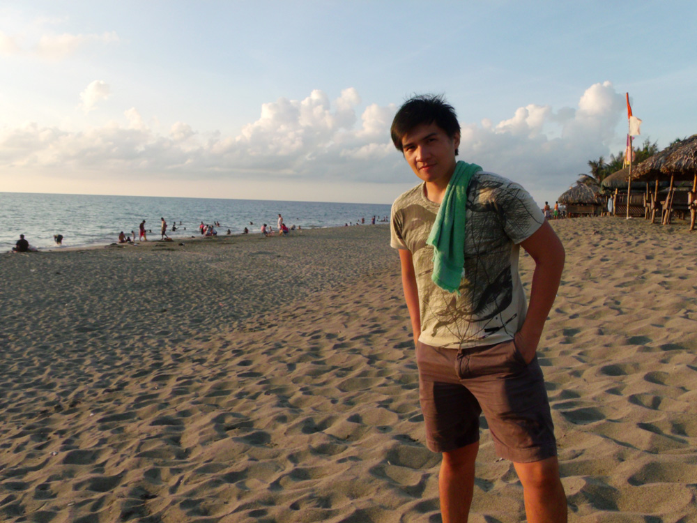 Dropped by Fort Ilocandia beach