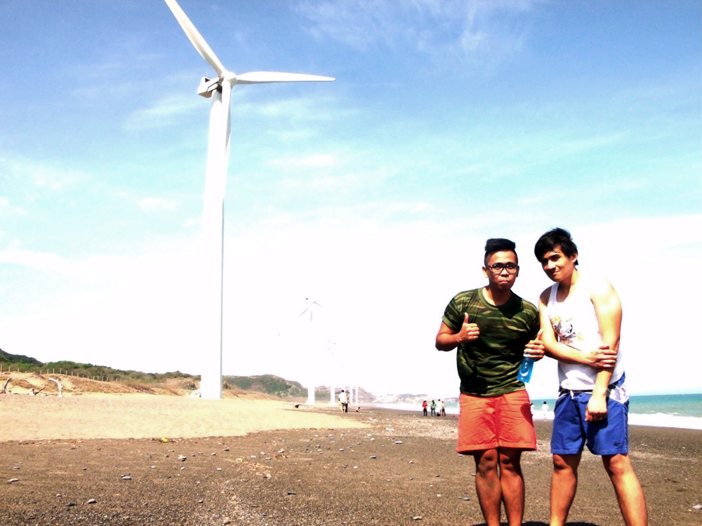 Finally beholding the magnificent Bangui Windmills