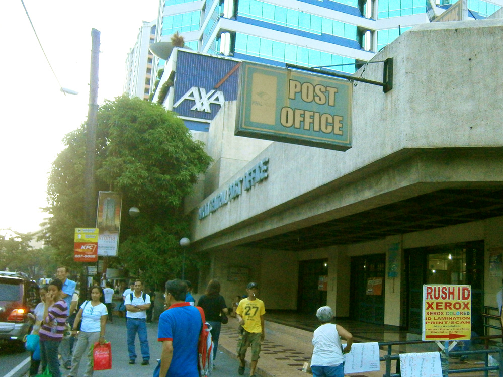 Makati Central Post Office under the sweltering summer heat