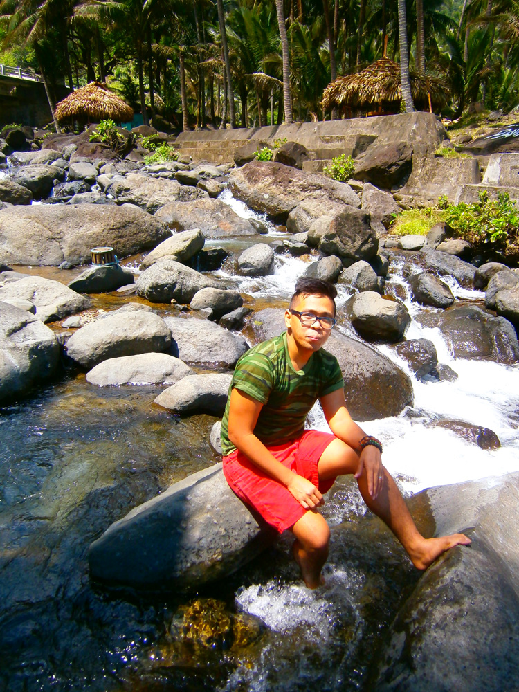Newfound respect for freshwater - Agua Grande, Pagudpud, Ilocos Norte