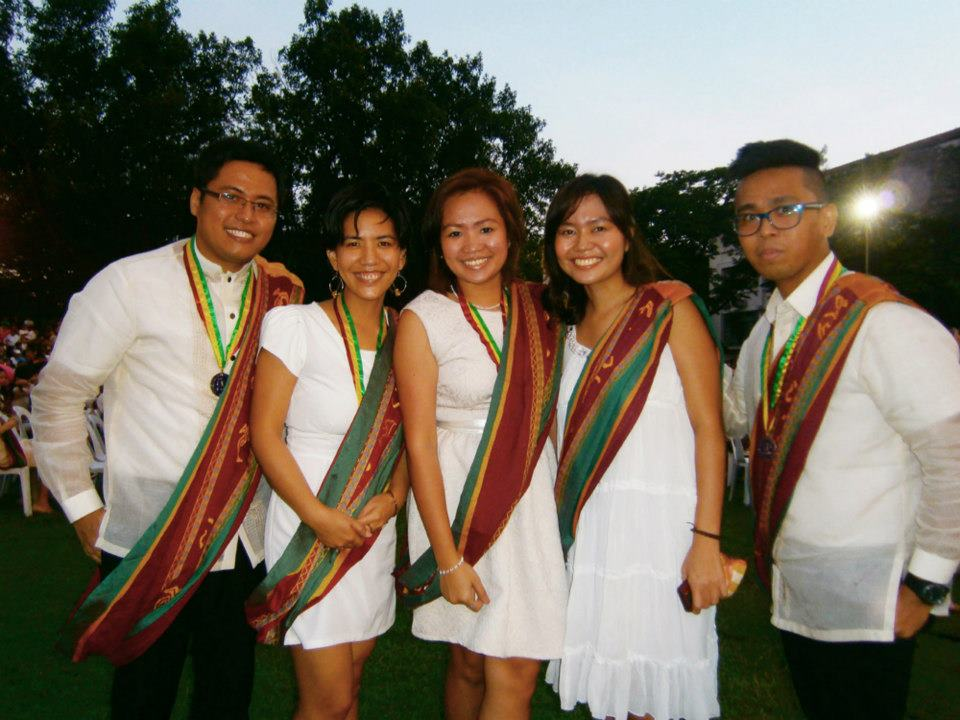Our Sablay now officially transferred from right to left