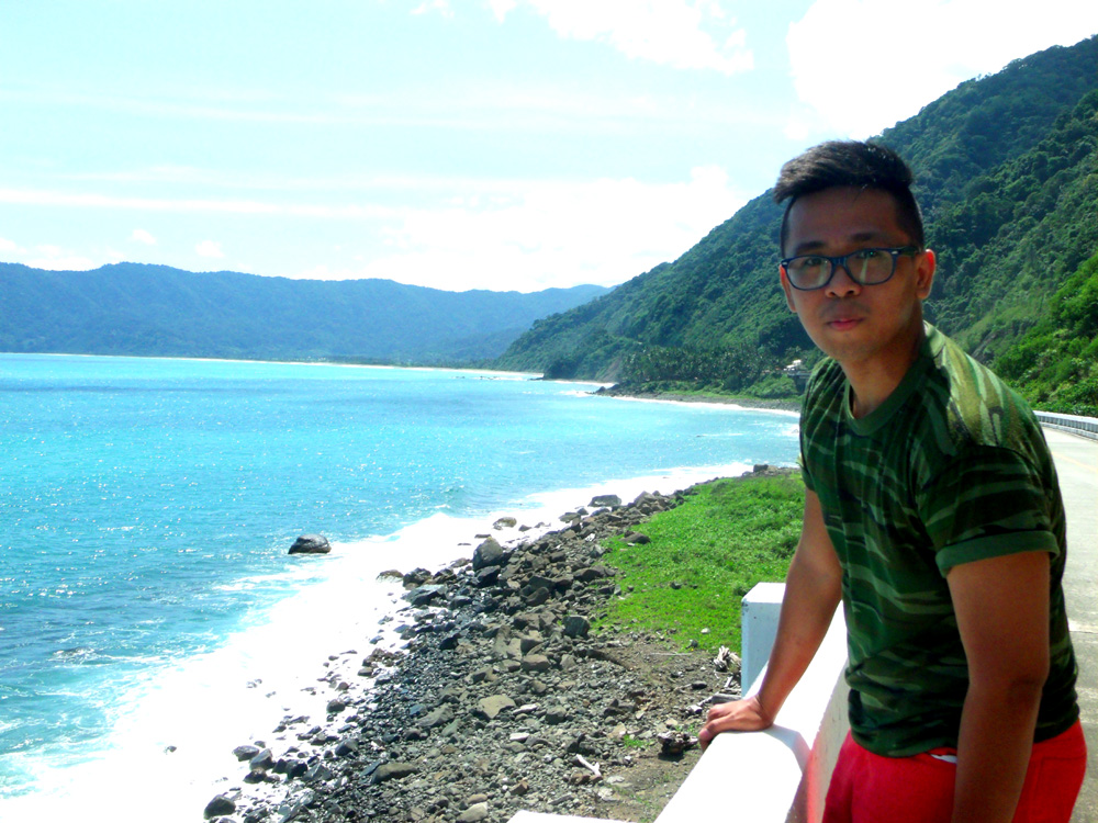 Overlooking the Luzon Strait from Patapat Bridge - Pagudpud, Ilocos Norte